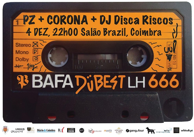 PZ + Corona @ Salão Brazil, Coimbra | 04 DEZ